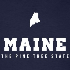 Maine Shape T-Shirts