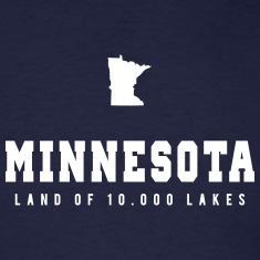 Minnesota Shape T-Shirts