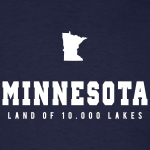 Minnesota Shape T-Shirts - Men's T-Shirt