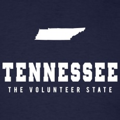 Tennessee Shape T-Shirts