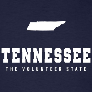 Tennessee Shape T-Shirts - Men's T-Shirt