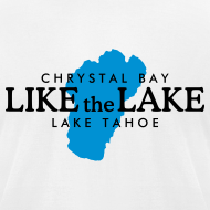 Design ~ Lake Tahoe Crystal Bay T-Shirt (Men/White)