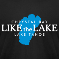 Design ~ Lake Tahoe Crystal Bay T-Shirt (Men/Black)