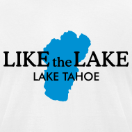 Design ~ Lake Tahoe T-Shirt (Men/White)