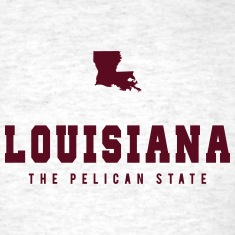Louisiana Shape T-Shirts