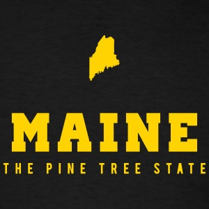 Maine Shape T-Shirts - Men's T-Shirt