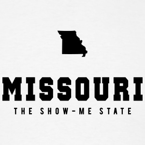 Missouri Shape T-Shirts - Men's T-Shirt