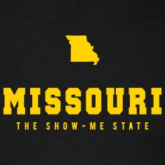 Missouri Shape T-Shirts