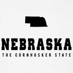 Nebraska Shape T-Shirts