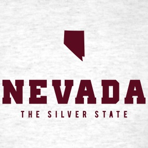 Nevada Shape T-Shirts - Men's T-Shirt