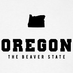 Oregon Shape T-Shirts