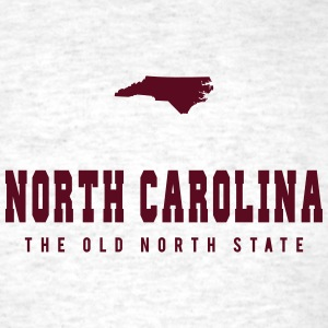 North Carolina Shape T-Shirts - Men's T-Shirt