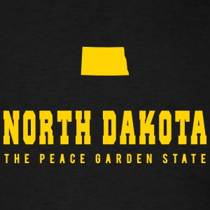 North Dakota Shape T-Shirts - Men's T-Shirt