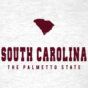 South Carolina Shape T-Shirts - Men's T-Shirt