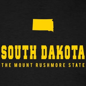 South Dakota Shape T-Shirts - Men's T-Shirt