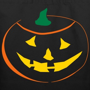 Halloween Pumpkin 3 color vector Bags & backpacks - Eco-Friendly Cotton Tote
