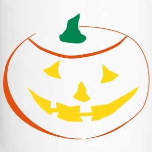Halloween Pumpkin 3 color vector Bottles & Mugs - Travel Mug