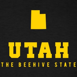 Utah Shape T-Shirts - Men's T-Shirt