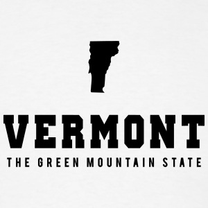 Vermont Shape T-Shirts - Men's T-Shirt