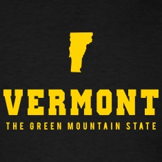Vermont Shape T-Shirts