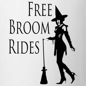 Free Broom Rides Bottles & Mugs - Coffee/Tea Mug