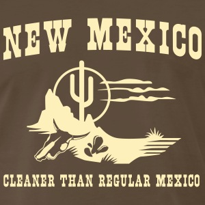 New Mexico. Cleaner than regular Mexico T-Shirts - Men's Premium T-Shirt