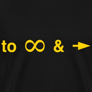 To infinity and beyond T-Shirts - Men's Premium T-Shirt