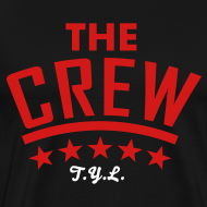 Design ~ The Crew Tee in Black