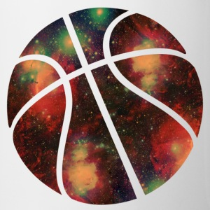 basketball galaxy Bottles & Mugs - Coffee/Tea Mug