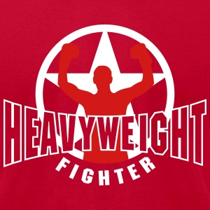 heavyweight fighter T-Shirts - Men's T-Shirt by American Apparel