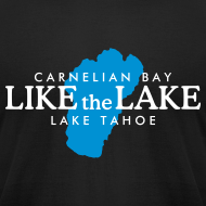 Design ~ Carnelian Bay Lake Tahoe T-Shirt (Men/Black)