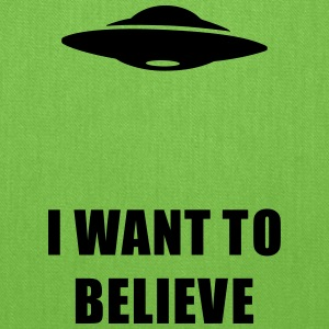 I want to believe Bags & backpacks - Tote Bag