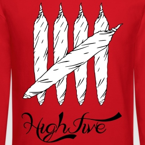 high five blunts Long Sleeve Shirts - Crewneck Sweatshirt