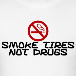 Smoke Tires T-Shirts - Men's T-Shirt