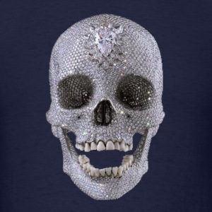 diamond_skull_1 T-Shirts - Men's T-Shirt