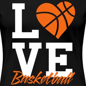 Love Basketball Women's T-shirt - Women's Premium T-Shirt