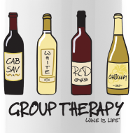 Design ~ Group Therapy - Water Bottle