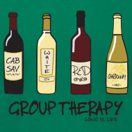 Design ~ Group Therapy - Mens Tee by American Apparel