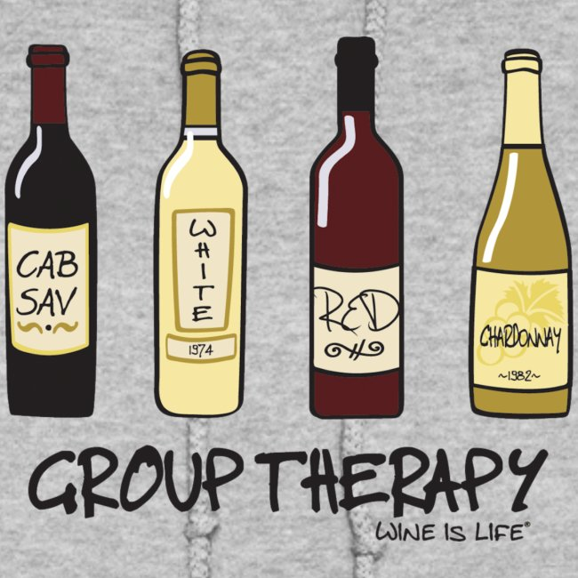Group Therapy - Womens Hooded Sweatshirt