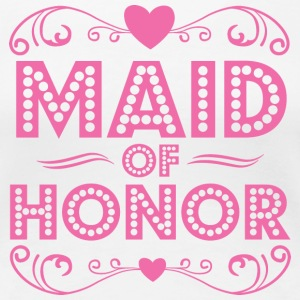 Maid of Honor Women's T-Shirts - Women's Premium T-Shirt