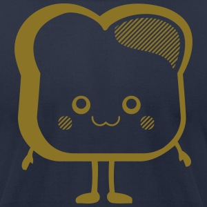 Kawaii-Designs: toast T-Shirts - Men's T-Shirt by American Apparel