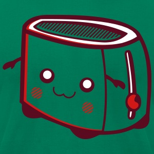 Kawaii-Designs: toaster T-Shirts - Men's T-Shirt by American Apparel
