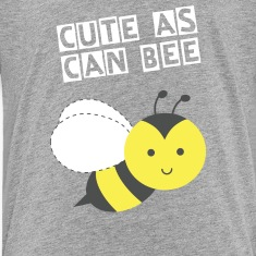 cute little happy bee Kids' Shirts
