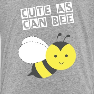 cute little happy bee Kids' Shirts - Kids' Premium T-Shirt