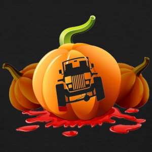 Halloween Jeep Pumpkin Carving - Women's T-Shirt
