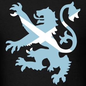 Scottish Lion and Saltire T-Shirts - Men's T-Shirt