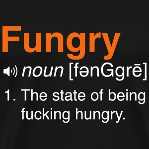 Fungry Definition T-Shirts - Men's Premium T-Shirt