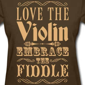 Violins and Fiddles Women's T-Shirts - Women's T-Shirt