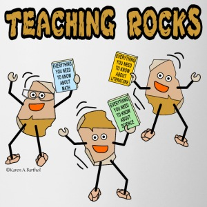 Teaching Rocks Bottles & Mugs - Coffee/Tea Mug