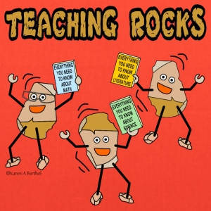 Teaching Rocks Bags & backpacks - Tote Bag